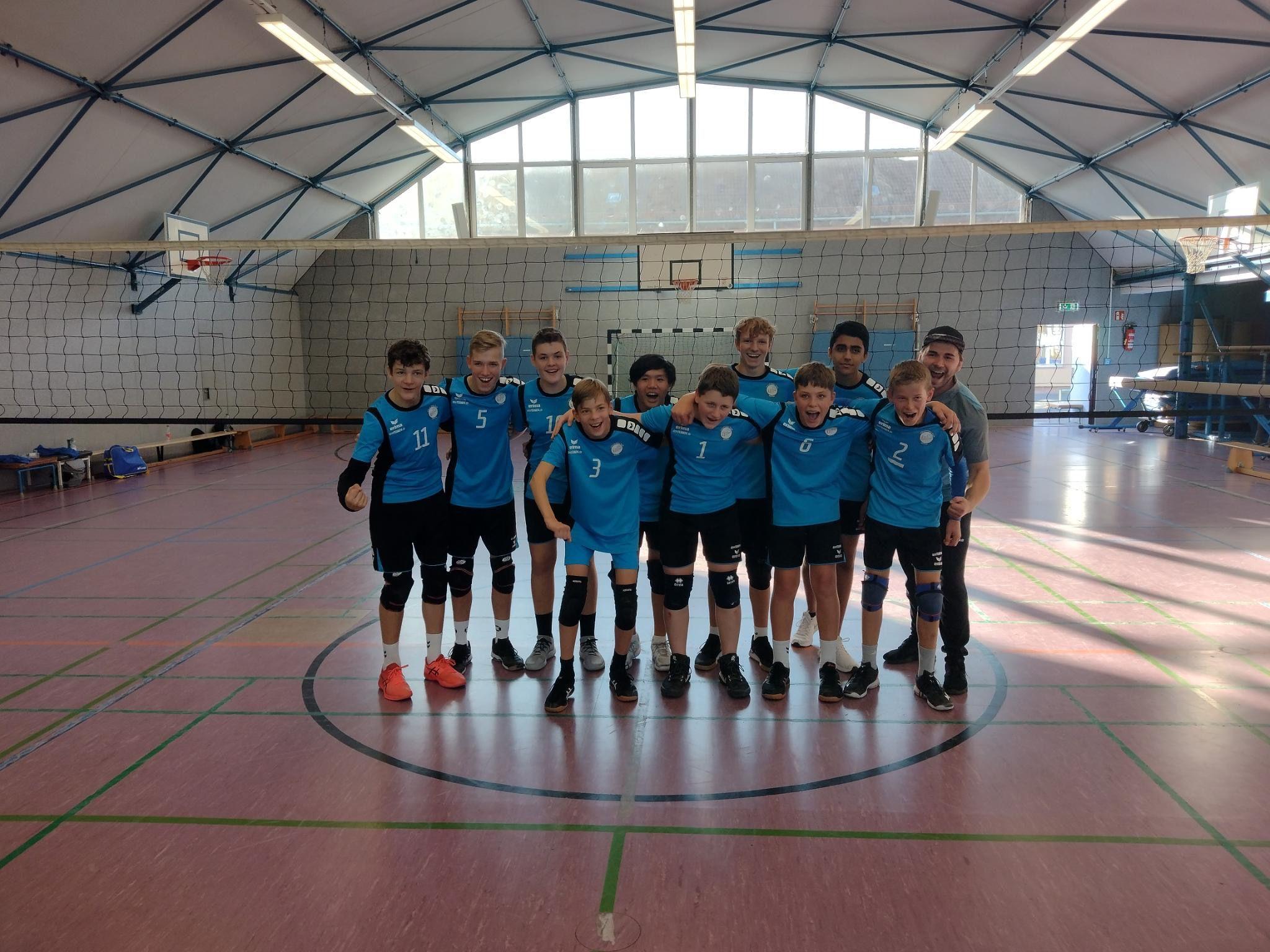 Erfolgreicher Auftakt der U16 männlich in Gera
