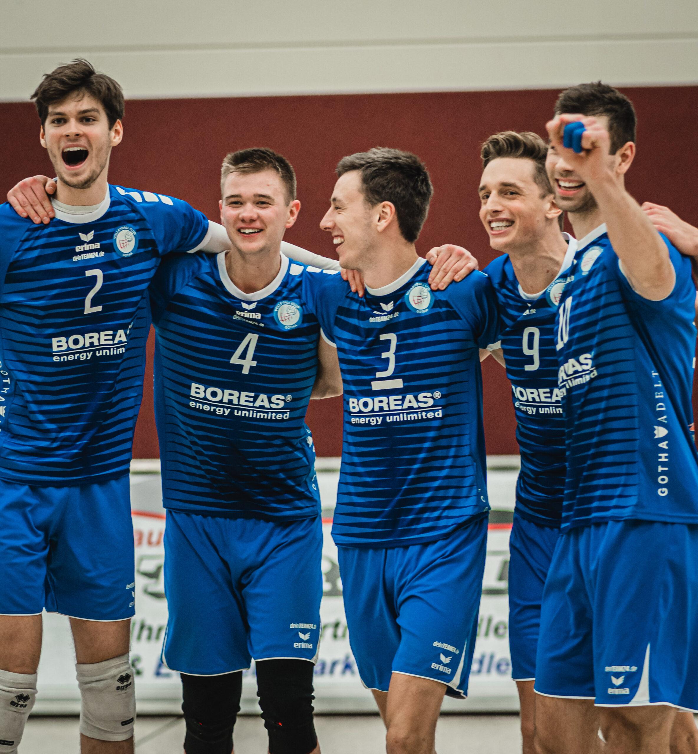 Rückrundenauftakt für Blue Volleys